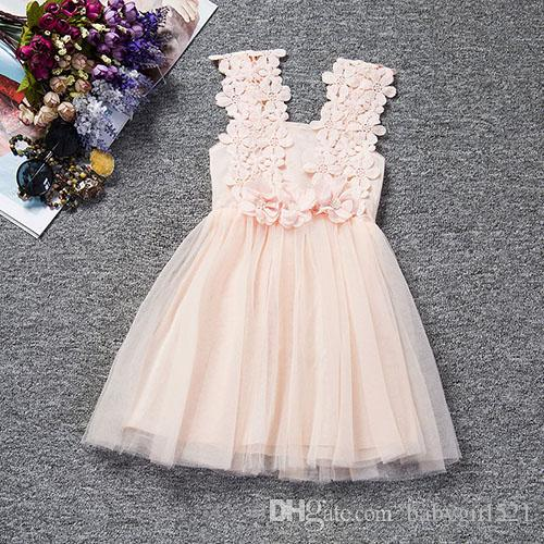 979c5fa5446 Fairy Pink Mint Green Flower Girl Dresses Lace Cheap High Quality Sleeveless  Pearls Blue Purple Girl Kids Gowns White Skirt Handwork Flowers White Tulle  ...