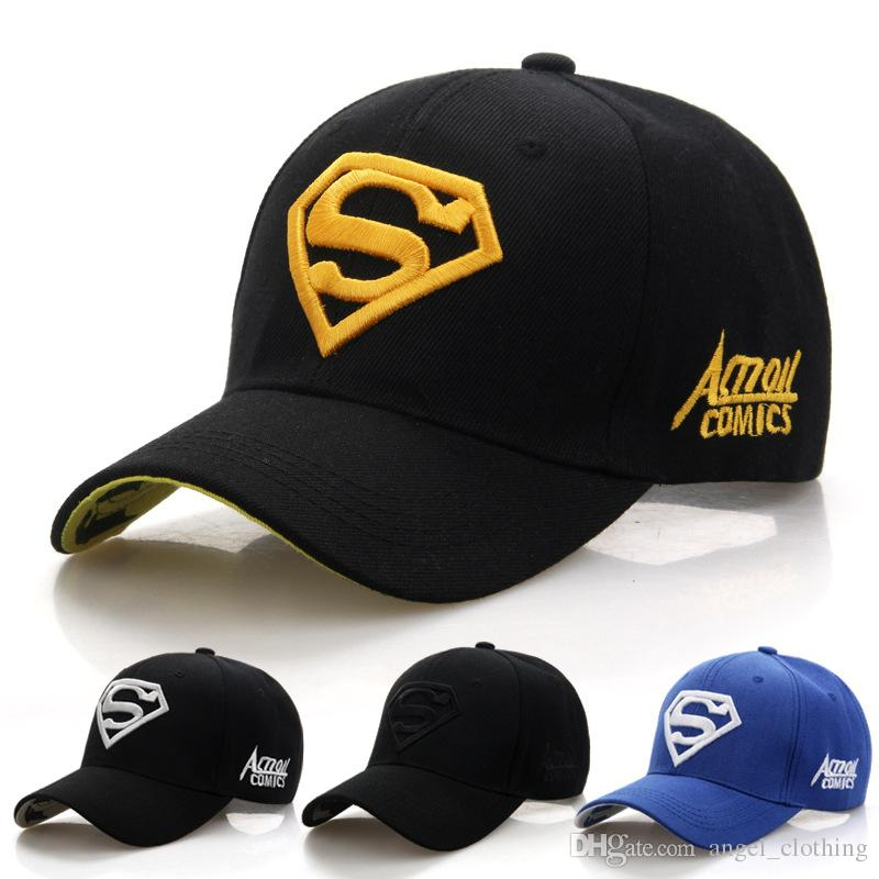 Acquista 2018 New Letter Superman Cap Casual Outdoor Berretti Da Baseball  Uomo Cappelli Donne Snapback Caps Adulti Cappello Da Sole e CR 1888d A   3.68 Dal ... c14488ad249c