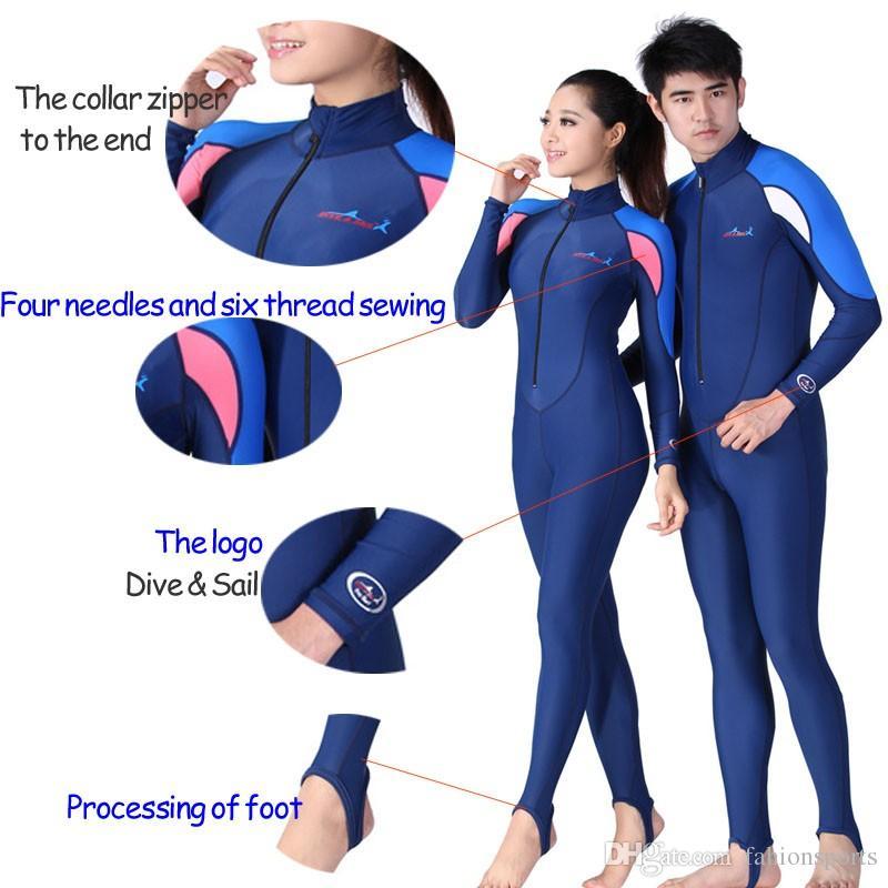 Yüzme Dalış Mayo Döküntü Guard Mayo Wetsuits Spearfishing İçin Sörf Dalgıç Erkekler Surf Suit Kadınlar Dalgıç Giysisi