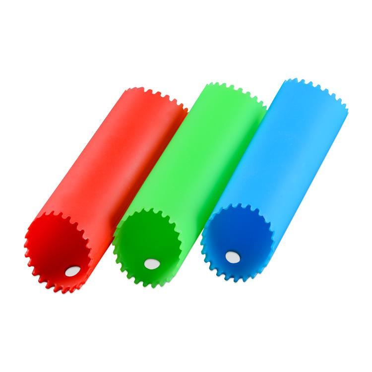Hot sell Kitchen Craft Garlic Peeler Silicone Easy Roll Garlic Peeler Tube Utility Kitchen Gadget Peel Stripper Tool Mix Colors