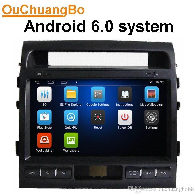 Ouchuangbo Car Audio Media Player Gps Navi For Toyota Land Cruiser