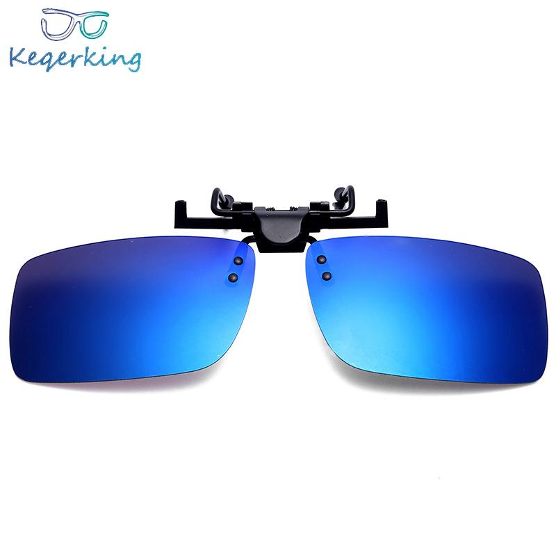 634a78664fa 2018 Brand Sunglass Clip Polarized Lens Clip On Sunglasses Rectangle Shape  Lens Pilot Sun Glasses Eyewear ZB 76 Kids Sunglasses Locs Sunglasses From  ...