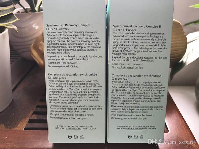العلامة التجارية ترطيب تبييض مكافحة الشيخوخة كريم الوجه للعناية بالبشرة المتقدمة ليلة إصلاح إصلاح مزامنة إصلاح 50ml 100ml دي إتش إل