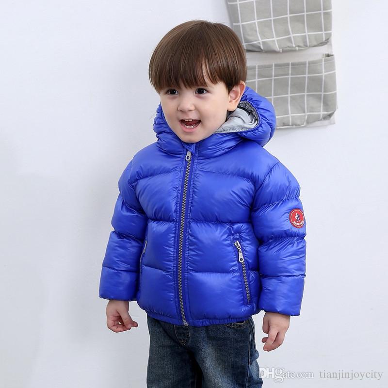 9066d8808 90% White Duck Down Children Snow Wear Warm Outerwear Winter Jackets ...