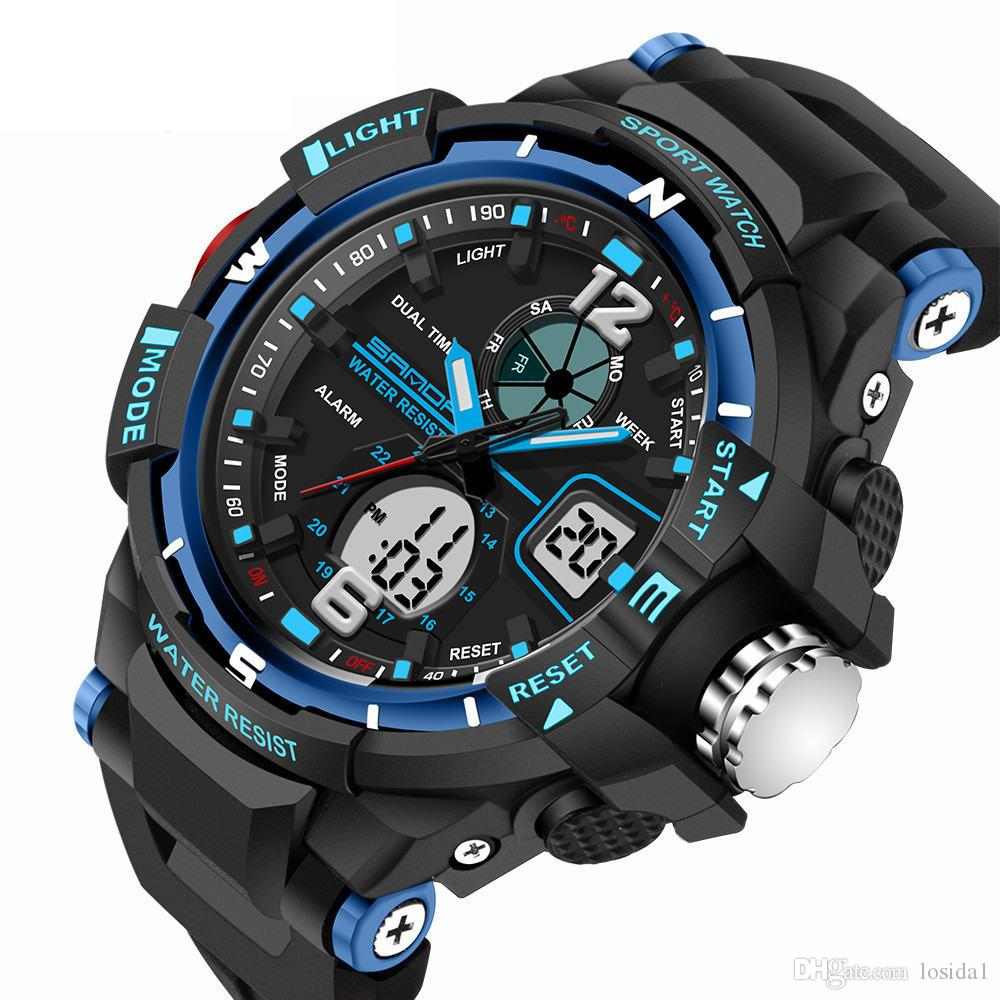 2019 year looks- G sport shock watches for men