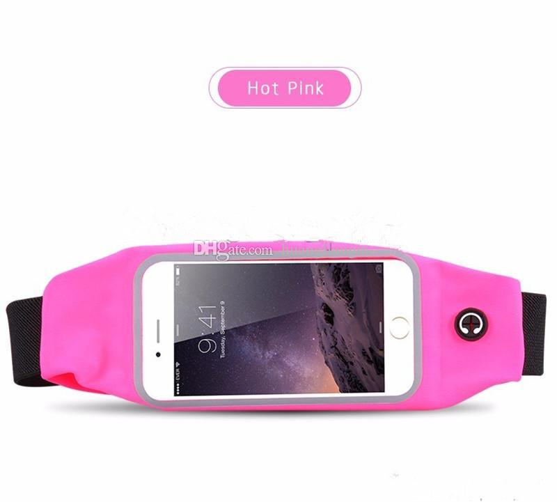 New Waterproof Phone Case Outdoor Running Hiking Sport Water Resistant Waist Bag For iPhone X 8 7 Plus Samsung S8 Plus Note 8 Inch Pocket