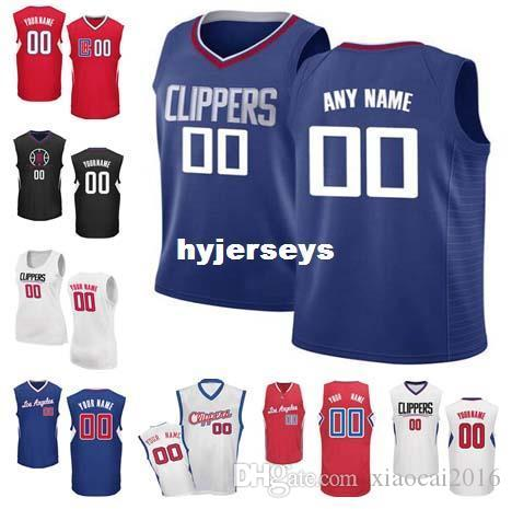 Cheap Custom New Los Angeles Basketball Jersey Customize Any Number ... a2c1f27f1