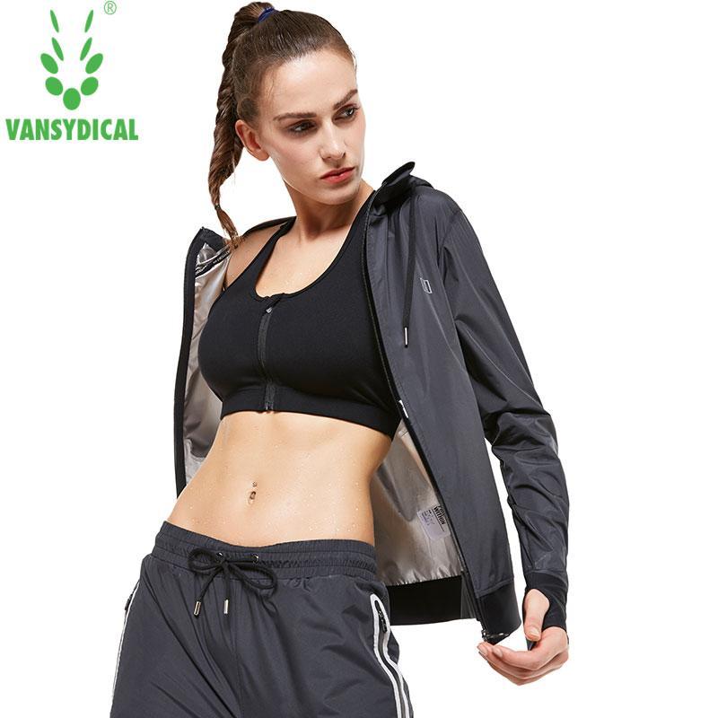 Compre Vansydical Body Building Fitness Hat Sauna Chaquetas Perder Peso  Mantener Adelgazar Correr Gym Ejercicio Entrenamiento Workout Ropa Superior  A  54.86 ... 6c4cf10a2c01a