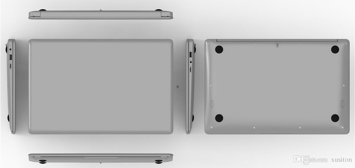 Frete Grátis 14 polegadas mini Laptop Windows 10 10G RAM 32G ROM emmc Ultrabook Tablet Laptop Câmera USB HDMI com Menor Preço XCTD-1