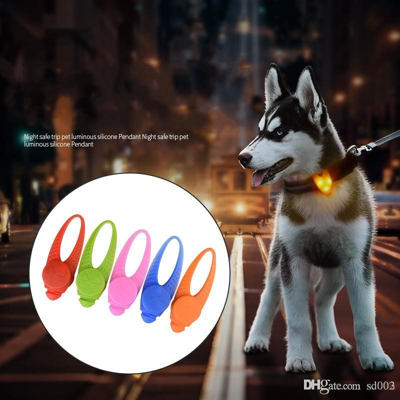 Pleasant Pet Small Silicone Pendants Anti Lost Led Light Dog Tag For Night Outdoor Walking Flashing Punny Tags Easy Carry 4 8Gl Bb Download Free Architecture Designs Intelgarnamadebymaigaardcom