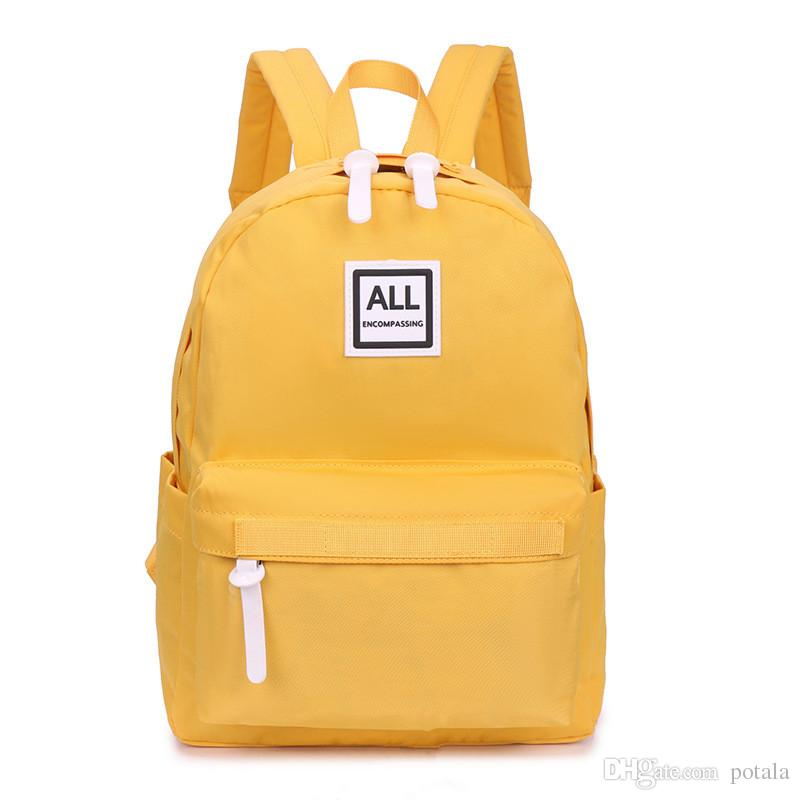 4ff65be7be52 45 13 32CM Polyester HawLander Canvas Backpack 32 11 25CM For Girls Boys  School Bag 21 18 9CM For Girls Big Medium Small Size Lightweight Jansport  Backpacks ...
