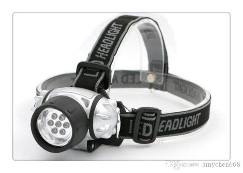 Led Far LED El Feneri Açık Havada Far Başkanı Işık Lambası Torch Lanterna ile Kafa Bandı