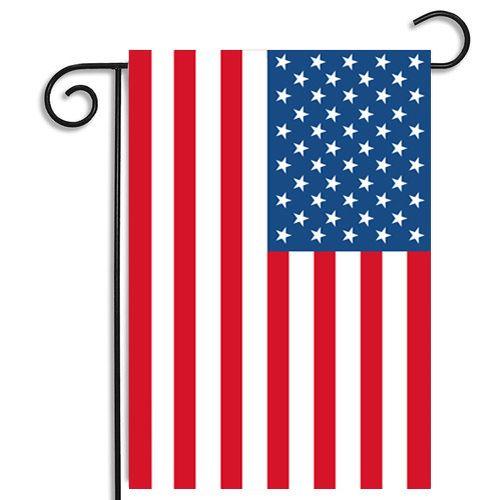 30*45cm USA Flags party decoration Blue Line USA Flag Black, White And Blue American Flag Garden flag Nursery patio Decor C4380