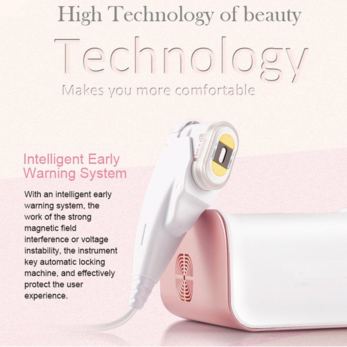 High Intensity Focused Ultrasound HIFU Ultrasonic RF Skin Care Beauty Massage Face SPA Machine Lifting SMAS Contraction