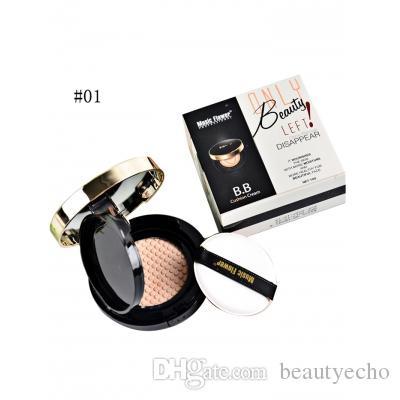 Professional Moisturizing Whitening Air Cushion BB Cream Sunscreen  Concealer Calm Makeup Whitening Moisturizer Free Shipping