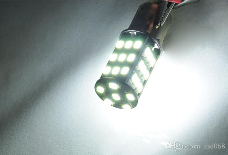 Vehicle 3000K White 1156 BA15S RV Trailer Interior LED Lights Bulbs 42 SMD 2835 for Any Car Led Decoration