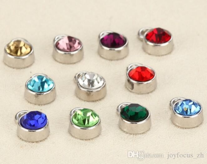 6mm Zinc Alloy Birthstone Charms Mix Colors Rhinestone For Jewelry Making  Bracelet DIY Jewelry Findings Stainless Steel Finding Lobster Clasps DIY  Findings ... 0afb848bdfa8