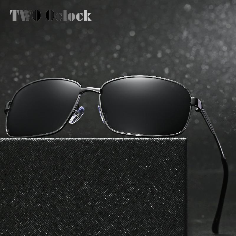 b35da0618c0 TWO Oclock 2017 Polarized Sunglasses Men Polaroid Driving Goggles Sun  Glasses UV400 Fishing Eyewear Oculos Gafas Shades 1615 Baseball Sunglasses  John Lennon ...