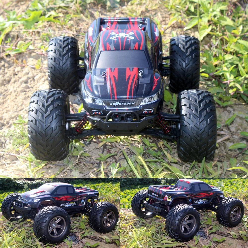 New Style 1:12 2WD 42KM/H RC Car High Speed Remote Control Off Road Dirt  Bike Classic Toys Big Wheel Truck VS HBX 12891 12889
