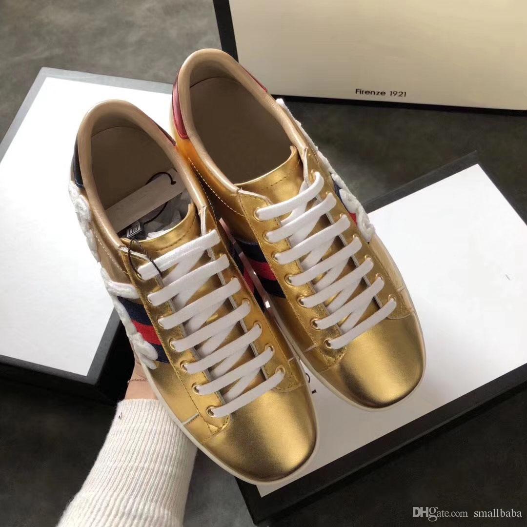 f40732507b468f Großhandel Rote Unterseite Persönlichkeit Und Mode Berühmte Luxus Marken  Designer Turnschuhe Schuhe Mit Top Qualität Aus Echtem Leder Männer Frauen  ...