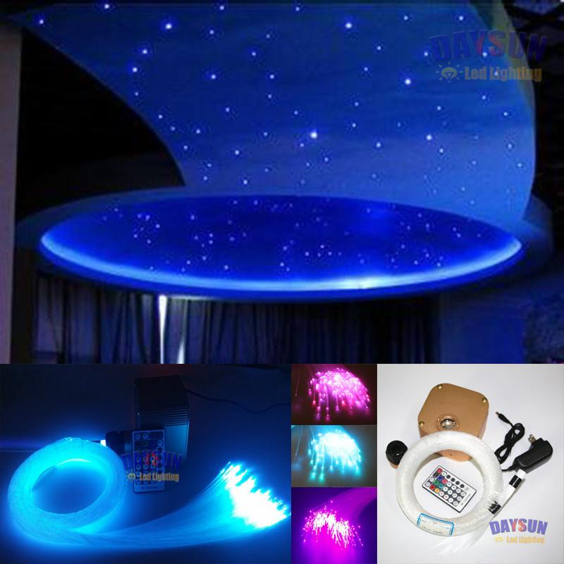 2018 New Hot Diy Ceiling Light Rgbw Twinkle Stars Optic Fiber Light ...