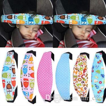 2018 New Adjustable Baby Head Support Stroller Car Seat Fastening Belt Sleep Safety Strap Positioner CCA9437 From Mr Cars