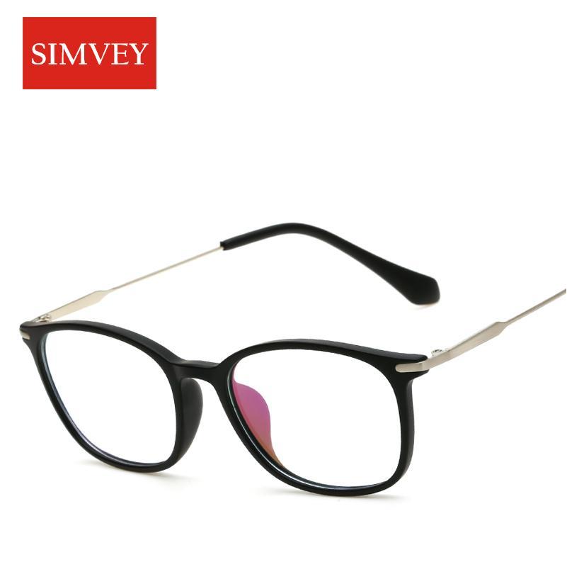 58b74668858b 2019 Simvey Fashion Retro Nerd Glasses Women Vintage Brand Designer Korean  Optical Glasses Frame Clear Lens Eyeglass Frames From Saucy