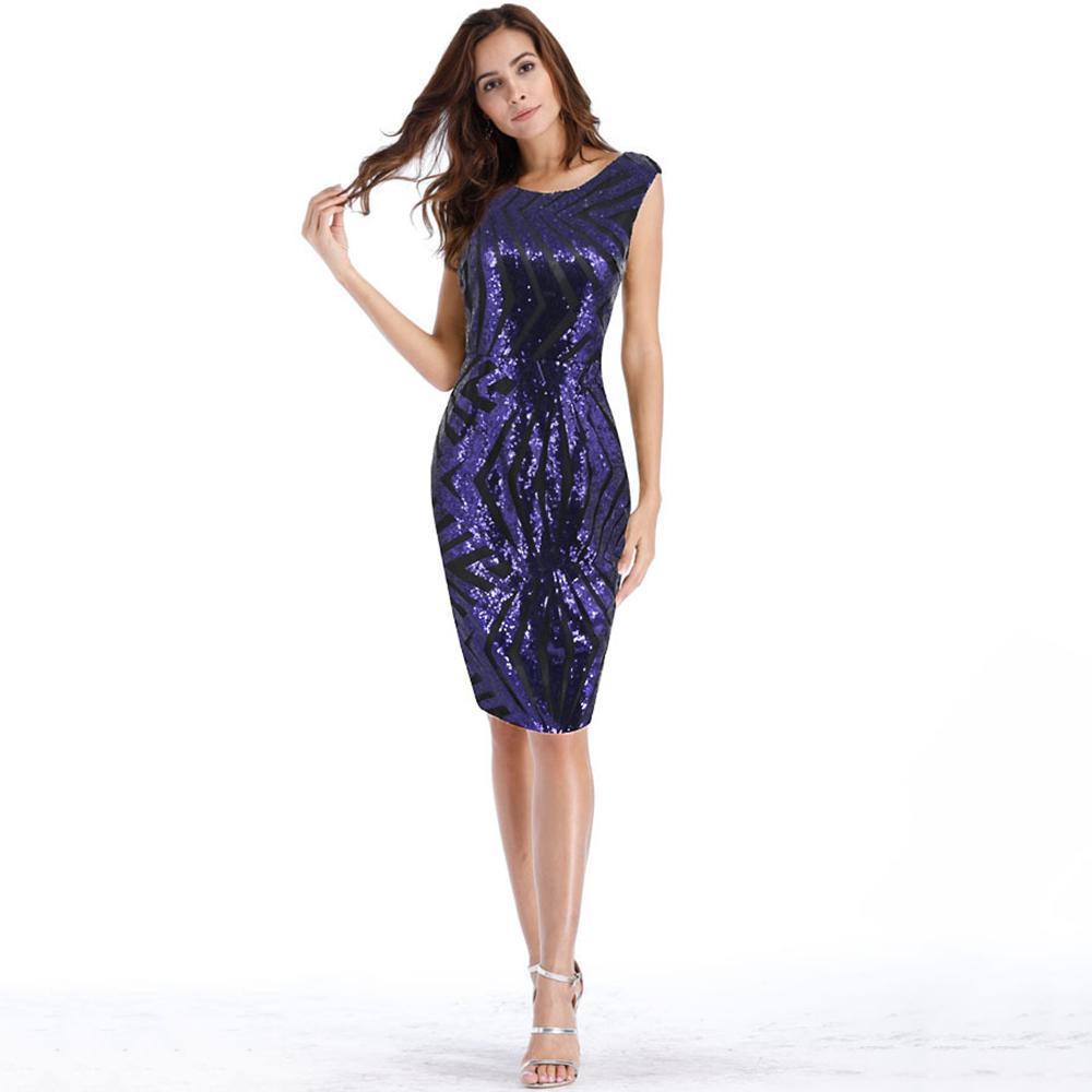 0d47e06bedb 2018 Short Bodycon Dress Women Summer Elegant Floral Mini Plus Size Beach  Dress Blue Dropshipping Short Party Sequined Dress Dinner Dresses Dress  Designers ...
