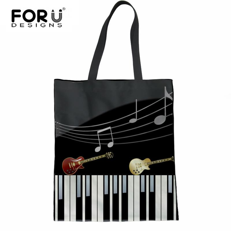 a272912213 FORUDESIGNS Casual Linen Large Shopping Bag Reusable Folder Shoulder ...