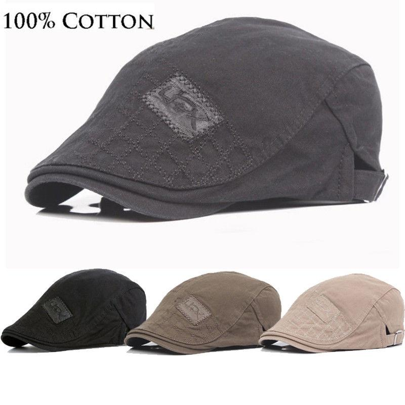 Spring Autumn Sun Hats for Men Classic Western Newsboy Caps Woman ... 3f28e21b521c