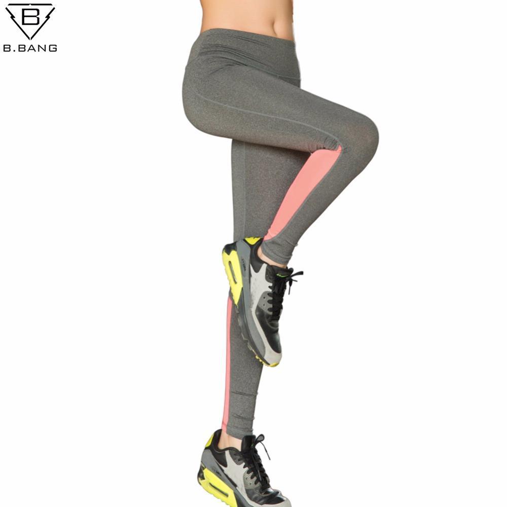 f101059b7c 2019 B.BANG Yoga Sports Leggings For Women Sports Tight Yoga Leggings  Running Fitness Pants Women Running Tights From Java2013, $35.62 |  DHgate.Com
