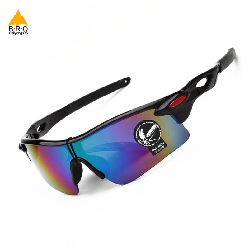 dcda73658f 2018 UV 400 Men Cycling Glasses Outdoor Sport Mountain Bike Bicycle ...