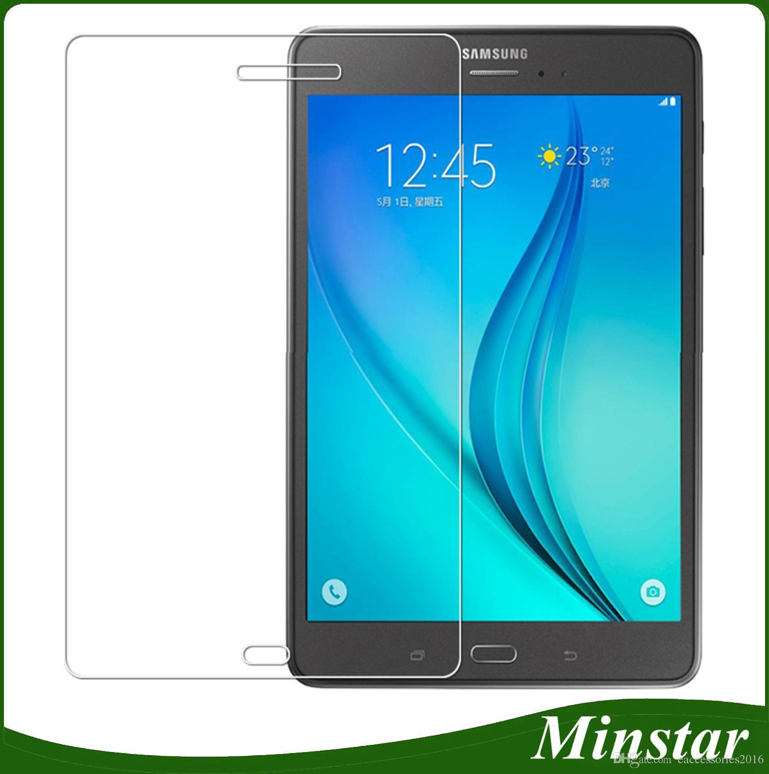 3c372c7d5 Vetro Temperato Galaxy S5 Samsung Galaxy Tab A 2017 T380 T385 T385 8  Pollici TabA T285 T280 7 T580 T585 10.1 Tablet Protezione Dello Schermo  Sottile In ...