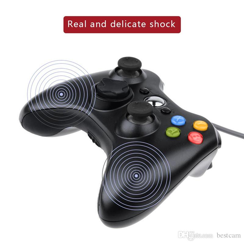 USB Wired Gamepad Controller for Microsoft Xbox 360 WII PS3 Slim PC Windows Joystick Gamepads for Game Lovers
