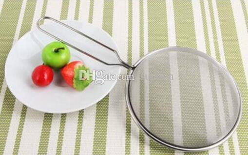 Pasta multifunzionale dell'acciaio inossidabile / tagliatelle / colino della cucina della colino della schiuma di olio Essenziali della famiglia