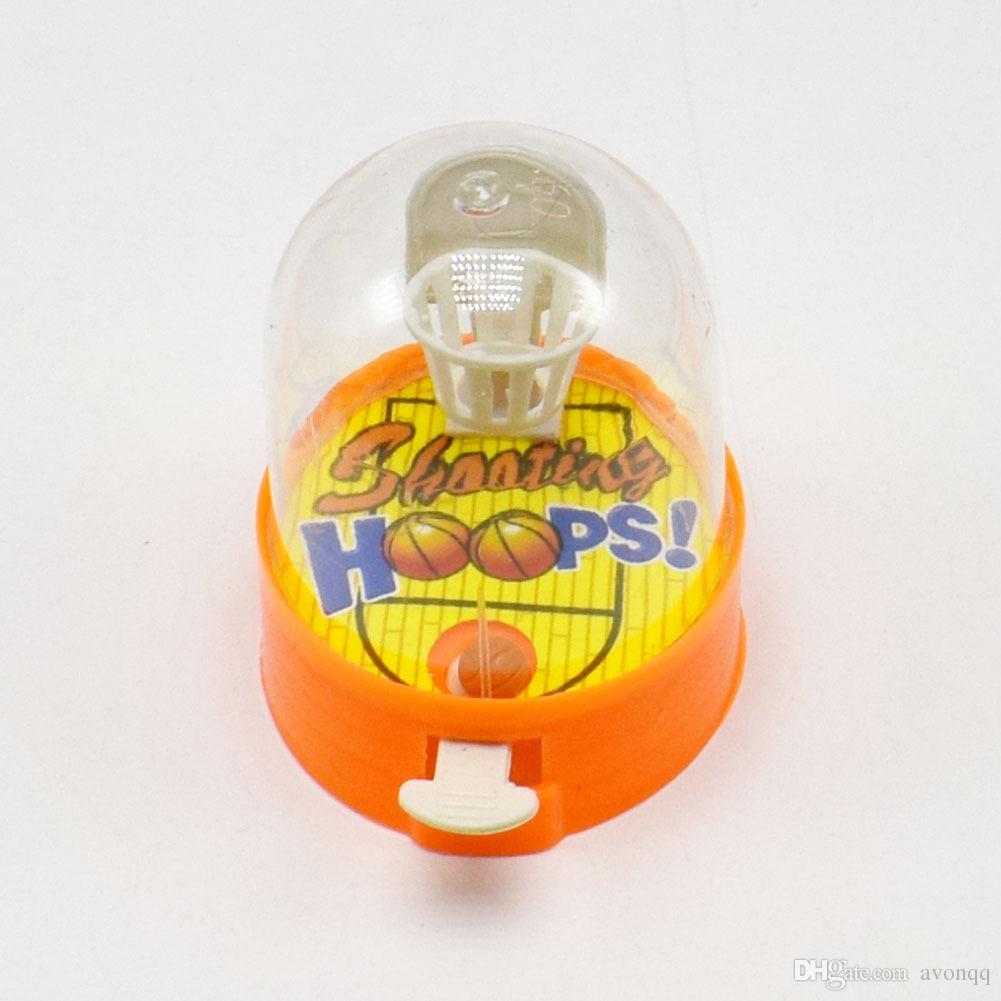 2018 Anti Stress Finger Basketball Gag Toys Mesa de Interior Baloncesto Shooting Barrels Juegos de Escritorio Juguete Interactivo para Padres e Hijos b841