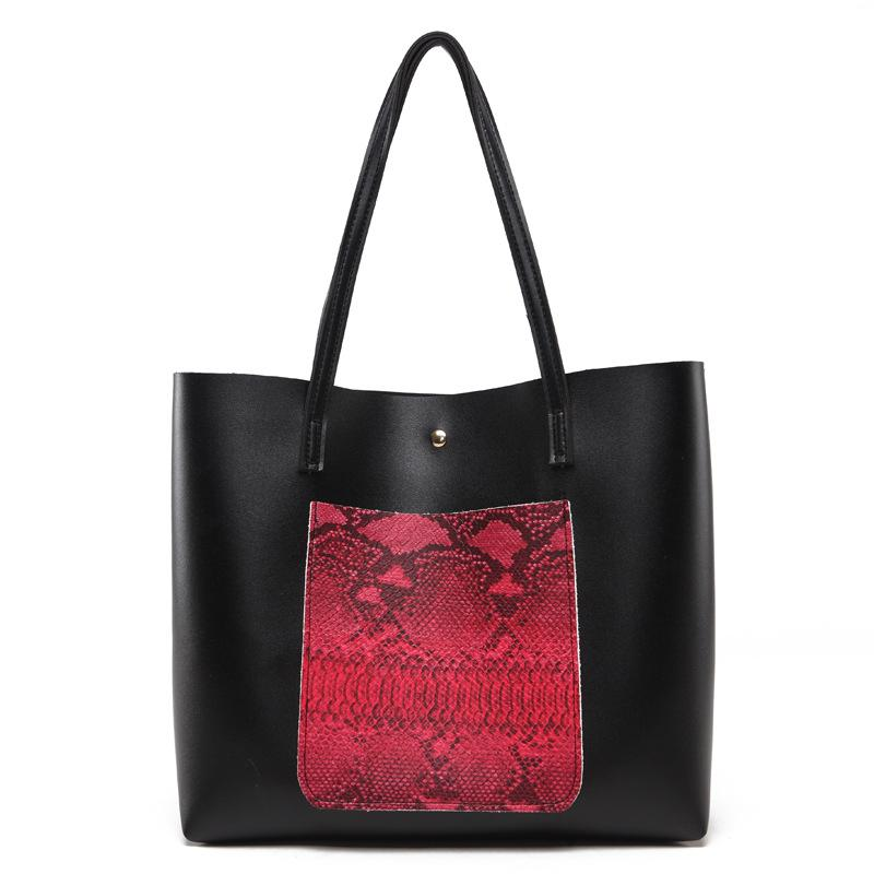 ca777f86f22 Luxury Snake Pu Leather Shoulder Bags Handbags Women Famous Brands 2018 Big  Serpentine Women Bag With Tassel Women Handbag Green Luxury Handbags Women  Bags ...