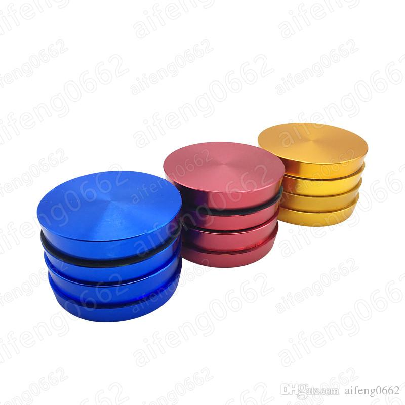 New arrival colorful design 62mm 4 layers grinder smoking filter tobacco grinder for daily use