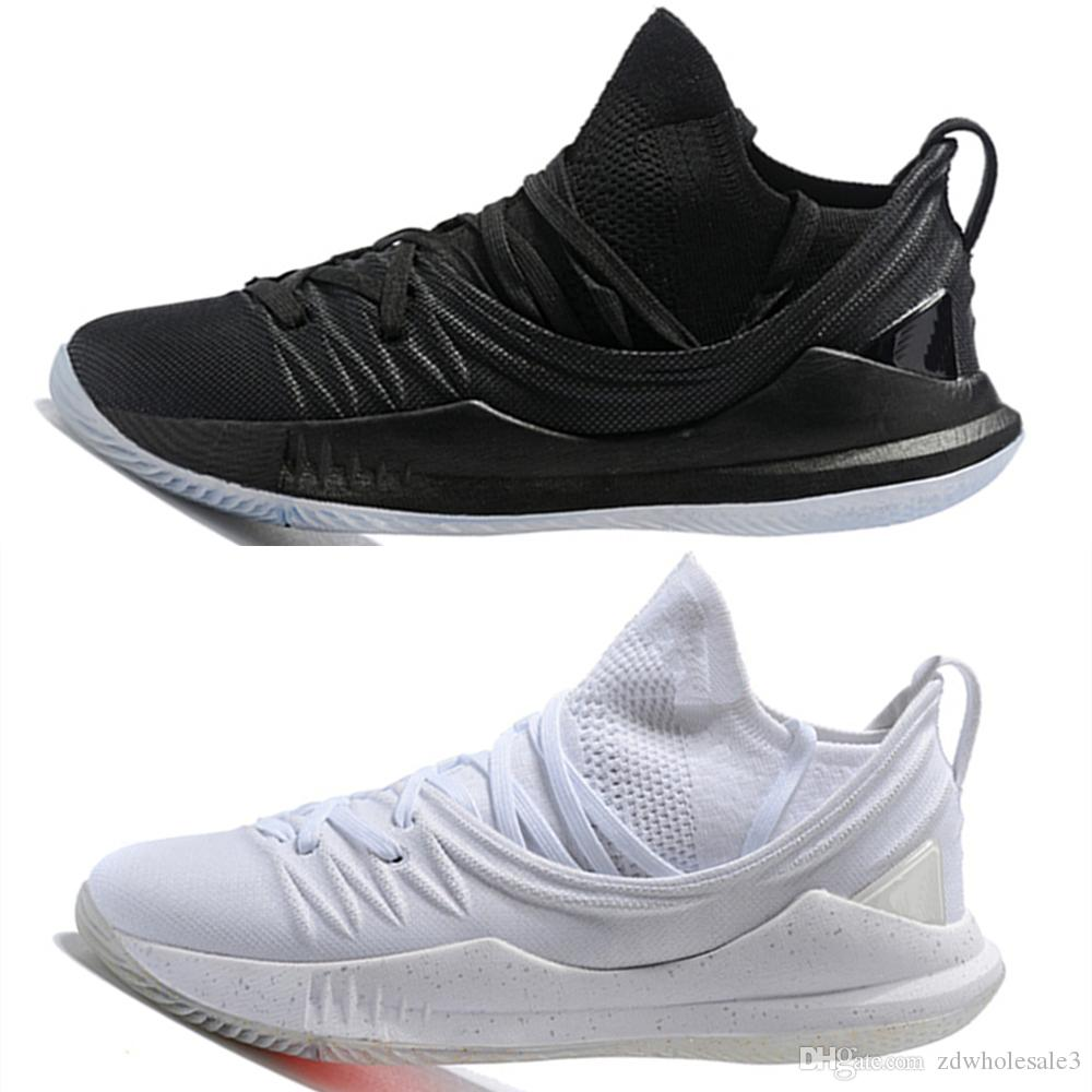 Compre 2018 Baixo Curry Stephen 5 Basquete Casual sapatos Baixo 2018 Homens Carry 5 f3c771