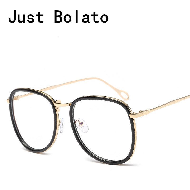 New Fashion Vintage Women Optical Round Glasses Frames Men Eyewear old  Clear Lens For Female Eyeglasses