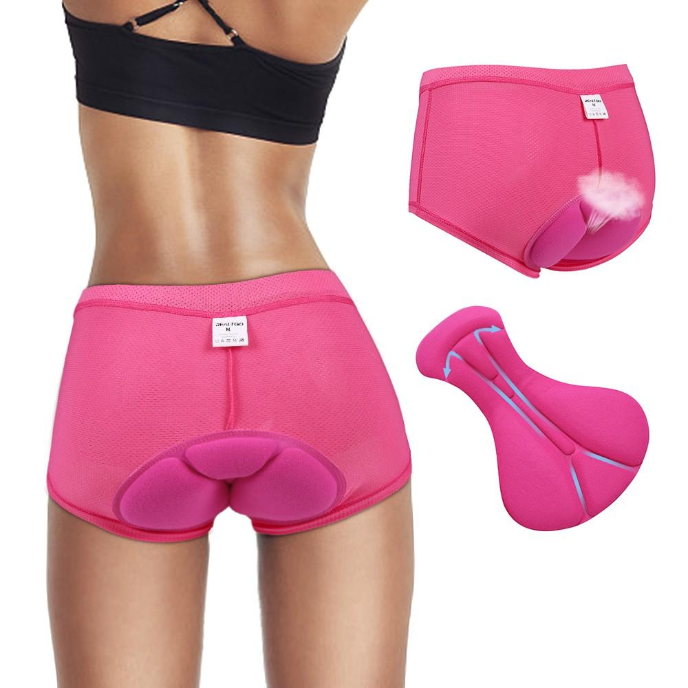 cc14aec796dce 2019 H10627RO XXL Women Cycling Underwear Gel 3D Padded Pants Bike Bicycle  Rose XXL SIZE From Bikeworldwide