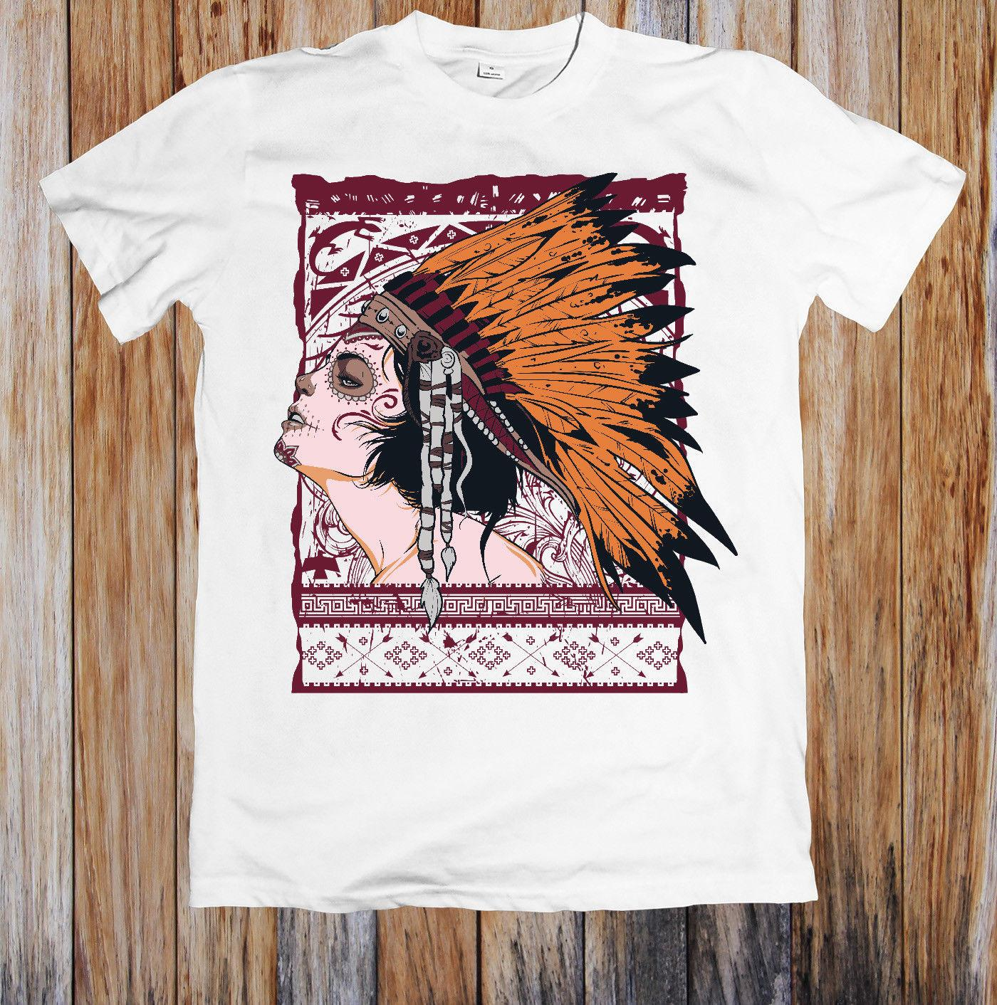Indian Girl Unisex T Shirt 100 Cotton Casual Funny Shirts Official T Shirt New Hipster O Neck Casual New Brand Clothing Tee