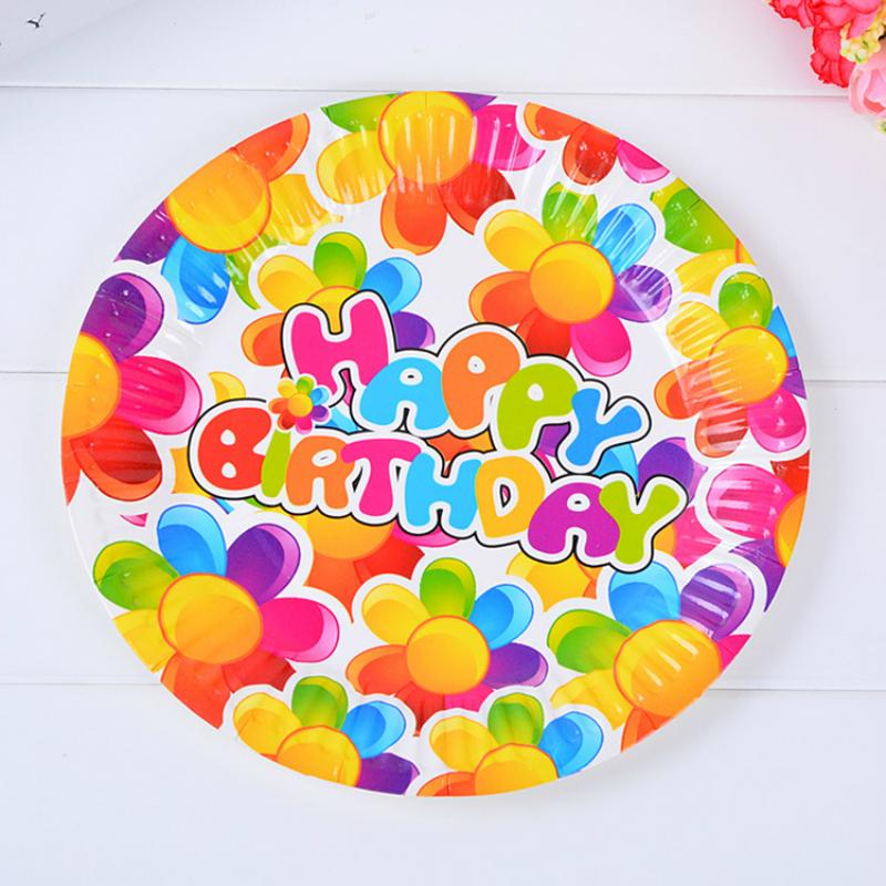 2018 /Pack 7inch Cute Sunflower Disposable Plates High Quality Paperboard Plate Event Children Birthday Party Decoration Supplies From Unclouded01 ...  sc 1 st  DHgate.com & 2018 /Pack 7inch Cute Sunflower Disposable Plates High Quality ...