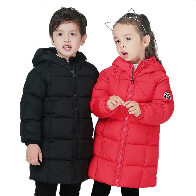 f2be318e5 Down Jacket For Girls Boy Coat Children S Down Jackets For Boys Girl ...