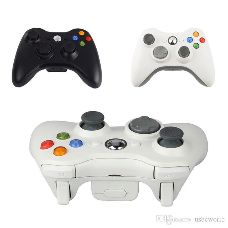 Wireless Bluetooth Joystick Gamepad Controller For Xbox 360 Joystick Controller For Official Microsoft PC for Windows 7 / 8 / 10