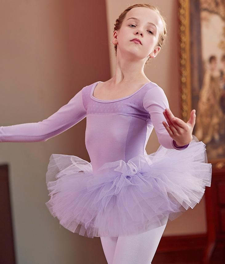 42d98f09b Ballet Tutu Dress Gymnastics Leotard for Girls Kids Leotard Tutu ...