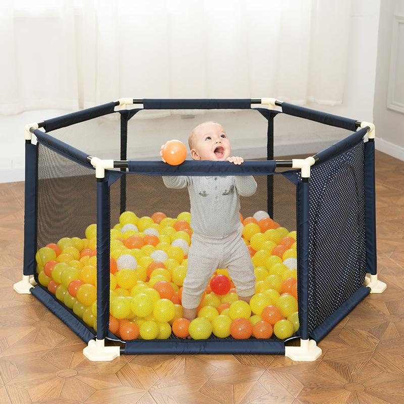 Etonnant 2018 Baby Playpen Portable Plastic Fencing For Children Folding Baby Safety  Fence Barriers For Ball Pool Child From Breenca, $110.31 | Dhgate.Com