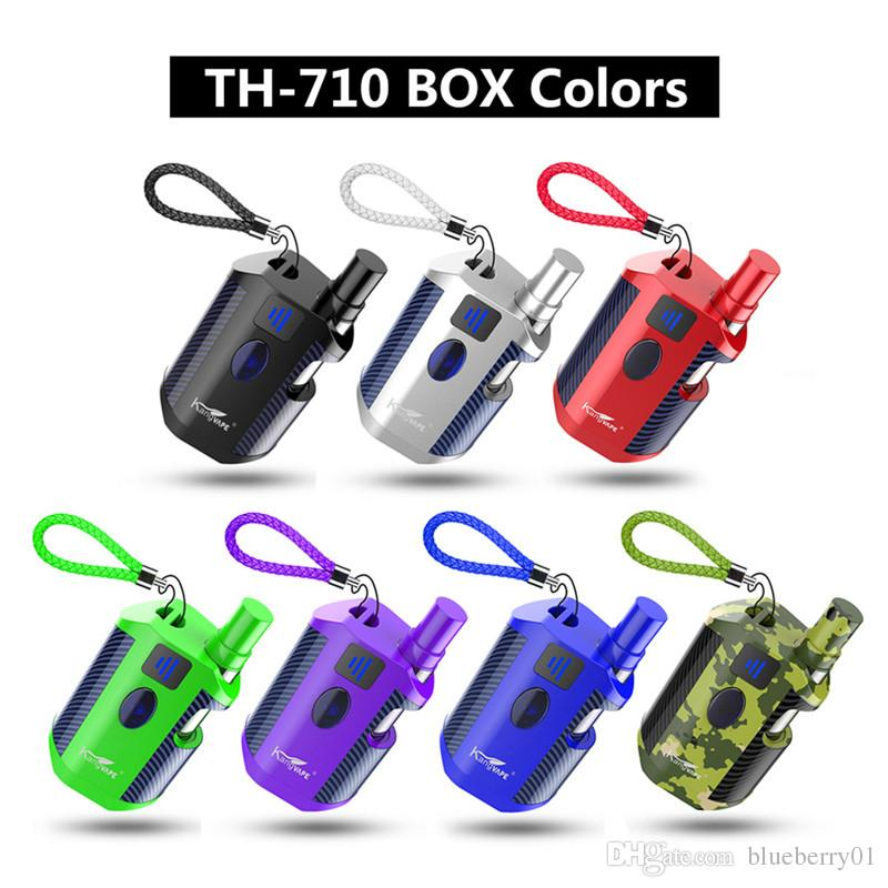 Kangvape th-710 box kit 650mah Batterie vaper TH-710 BOX mod cartouche 12mm 0.5ml Atomizer kit cigarette électronique