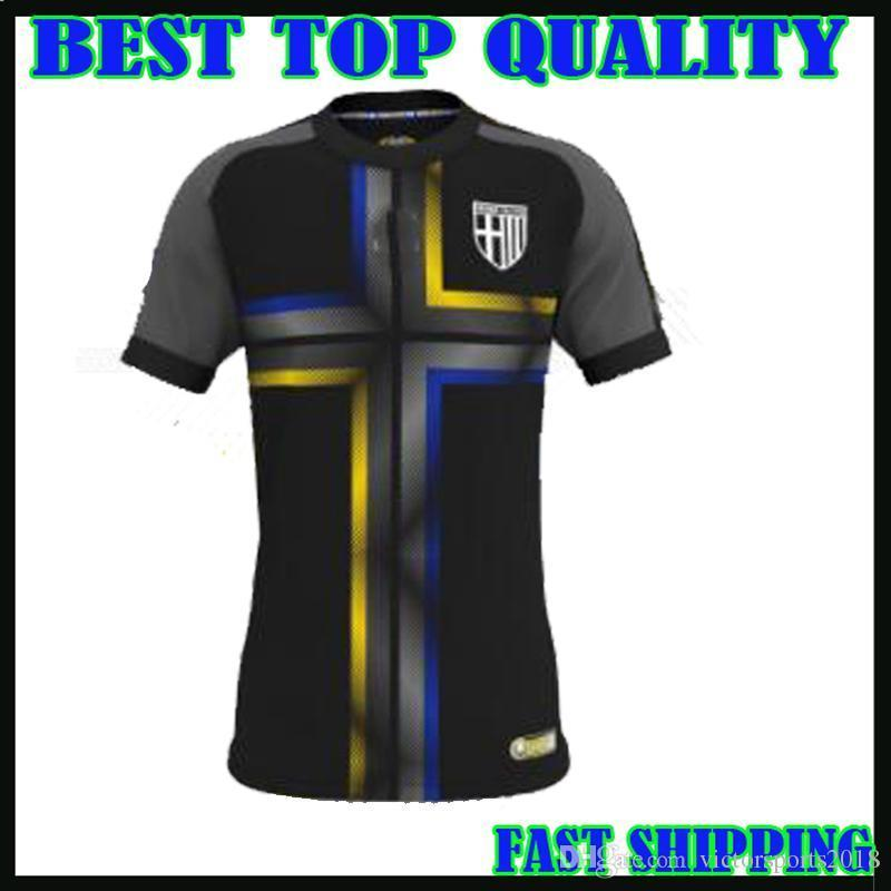 18866a7c8 2019 18 19 Parma Soccer Jersey Third Black Phoenix 2018 2019 Calaio Insigne  Di Gaudio Ceravolo Football Shirts Top Quality Customize From Shellyzhs