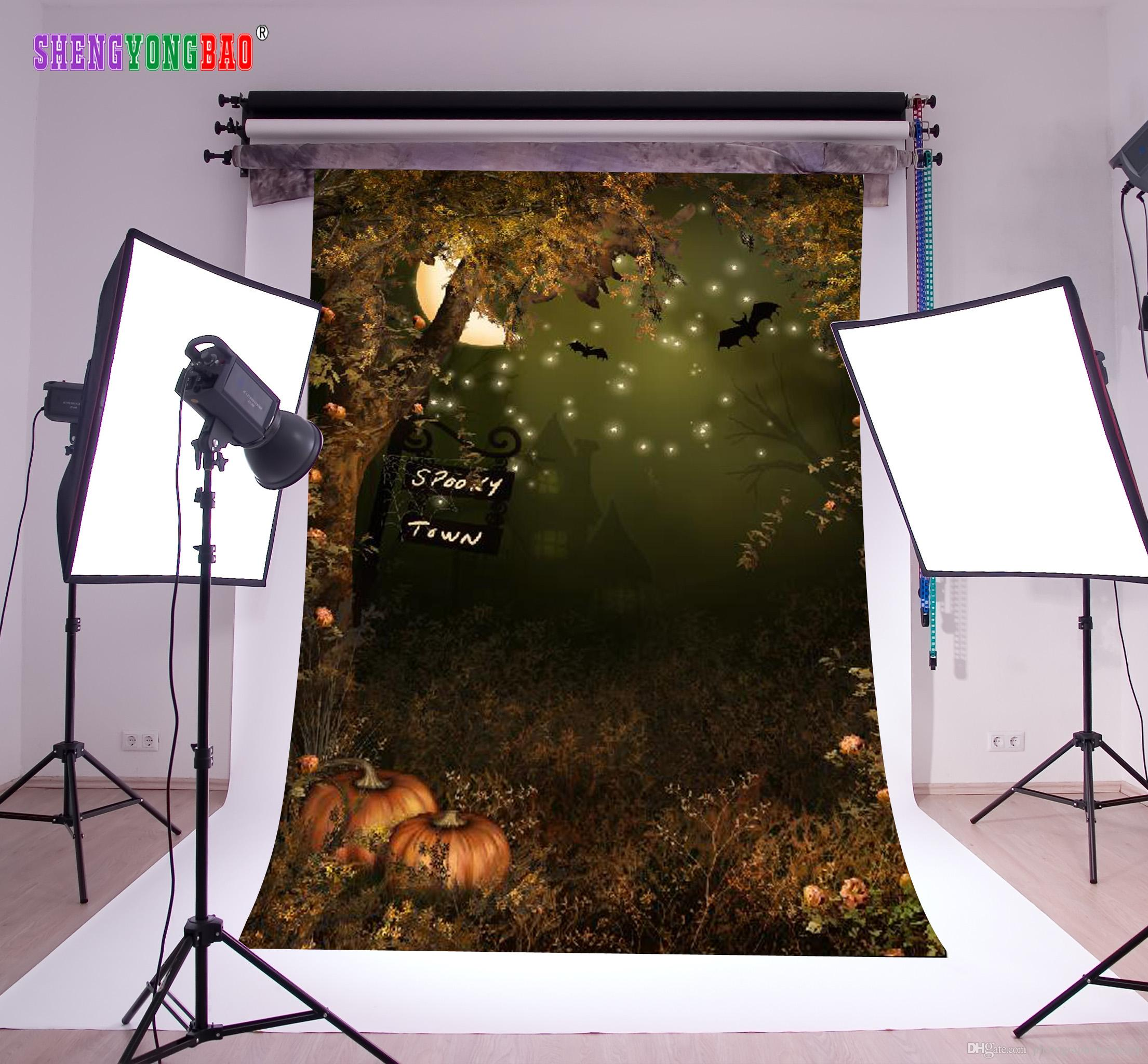 Vinyl halloween photography backdrops props digital printed photo studio background ntzp 138 photography backdrop halloween backdrop photography backdrops